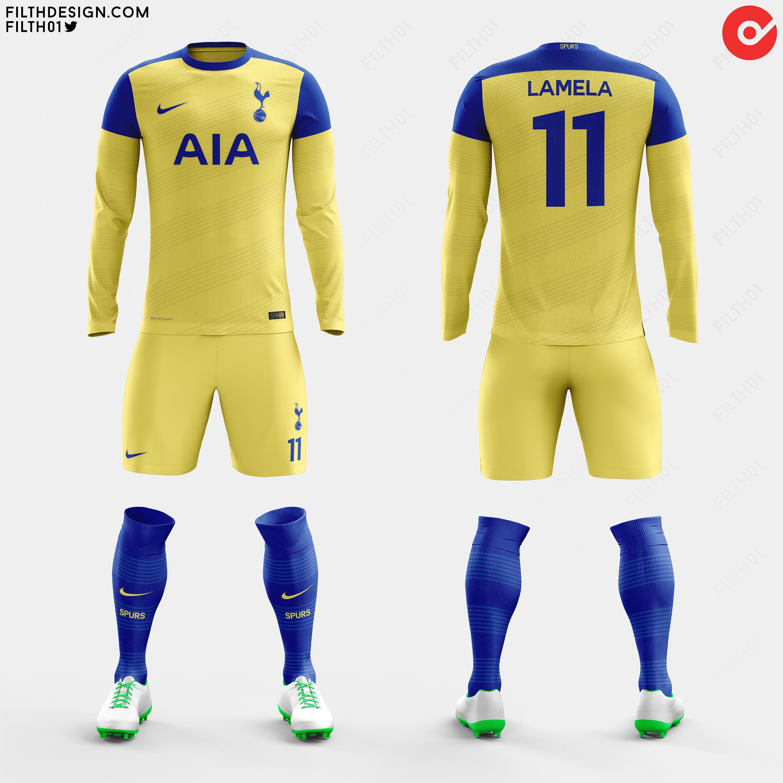 100% authentic 79992 fc215 Tottenham x Nike   Away Kit