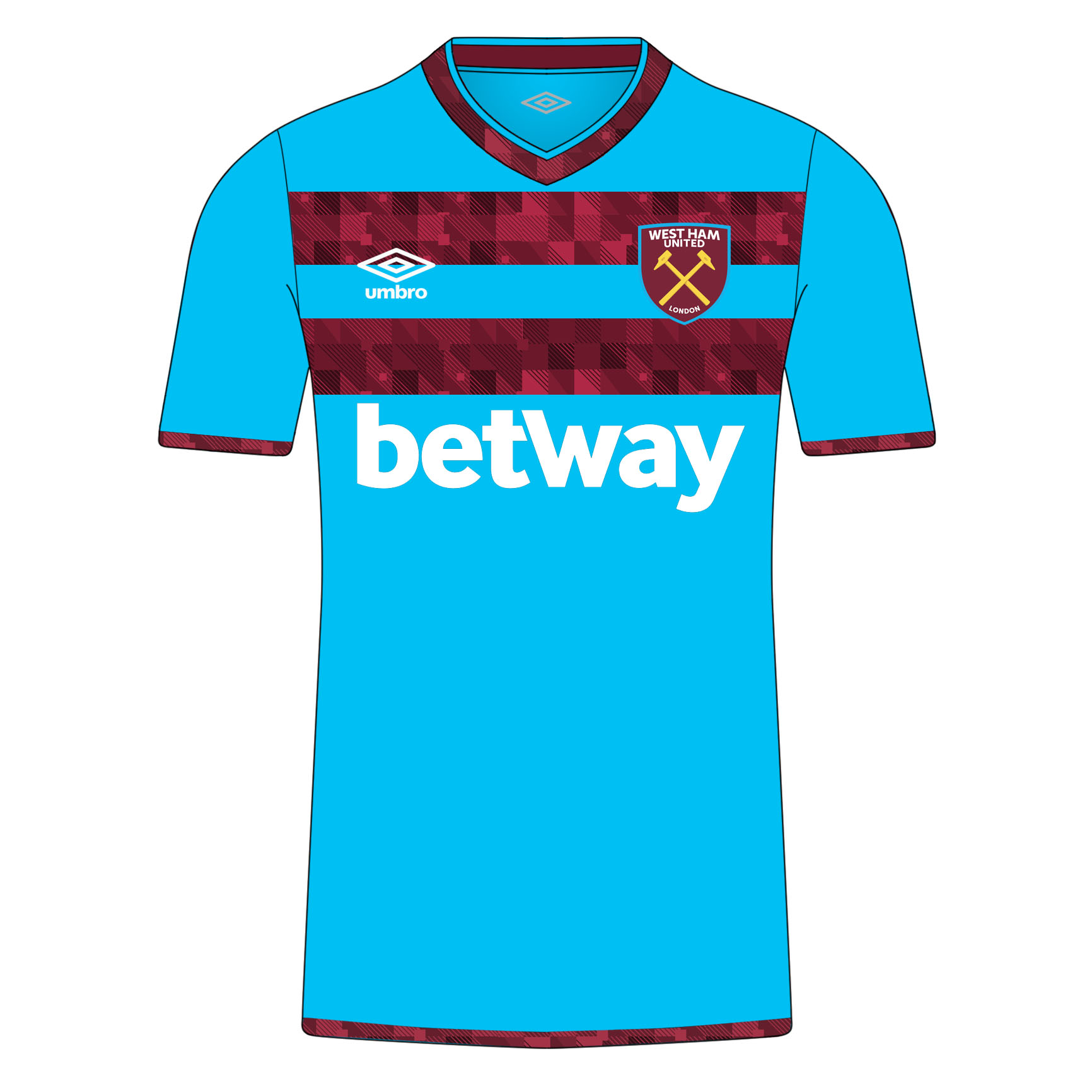 low priced 24fe6 02e44 West Ham 18/19 Away kit