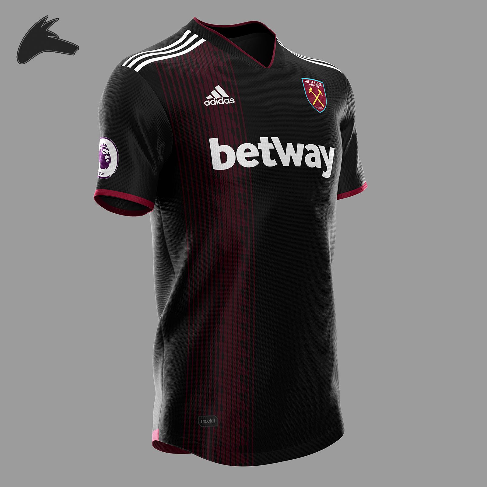 huge selection of 6c6b4 8f53d West Ham x Adidas away concept