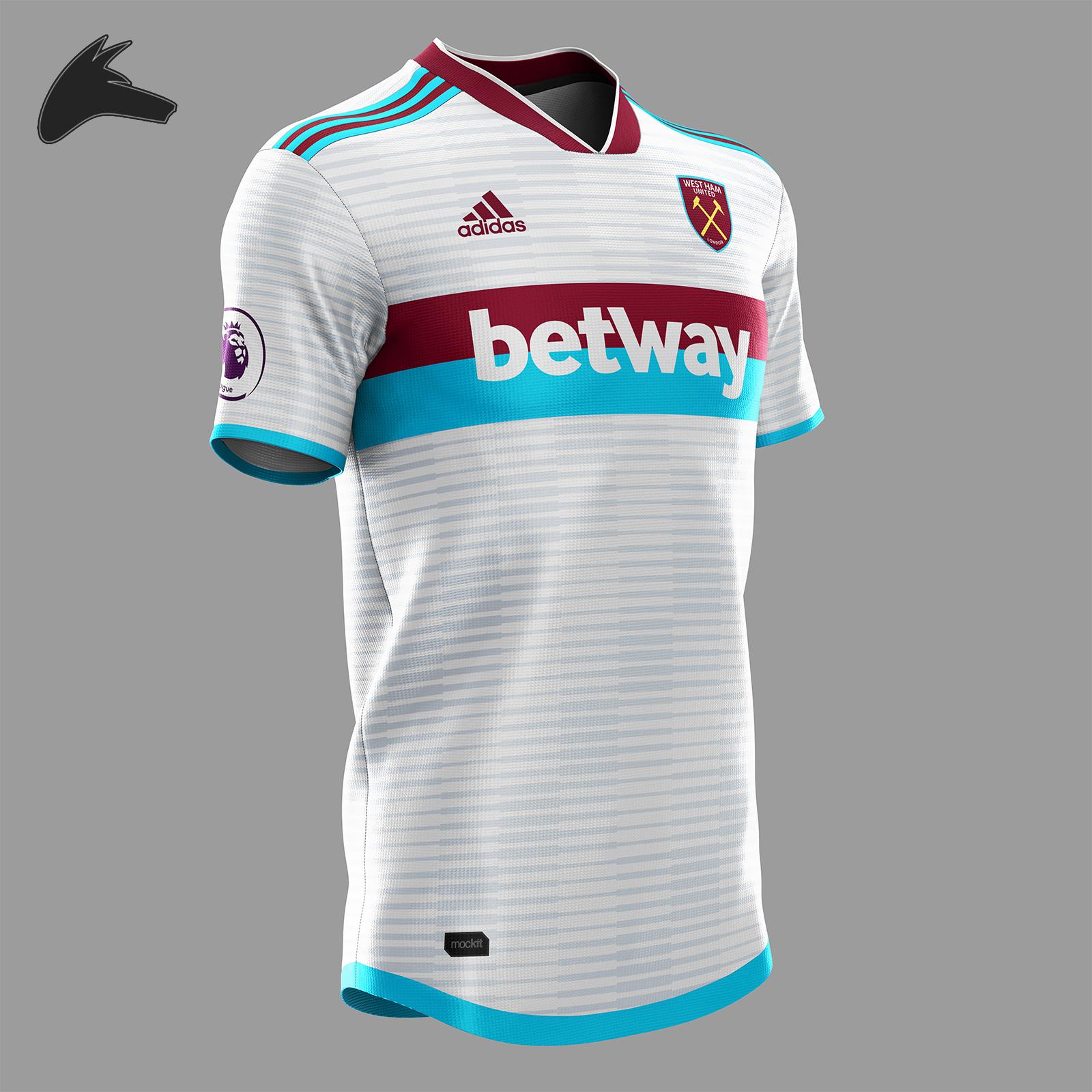 huge discount a7ff0 7cfab West Ham x Adidas third concept
