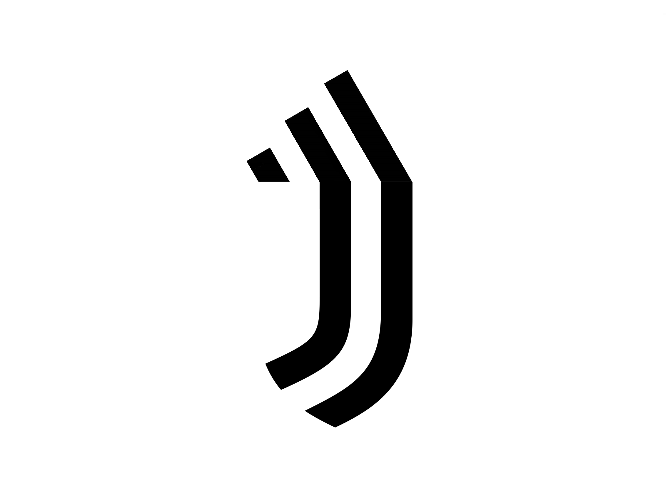 what if adidas logo merge with juventus logo if adidas logo merge with juventus logo