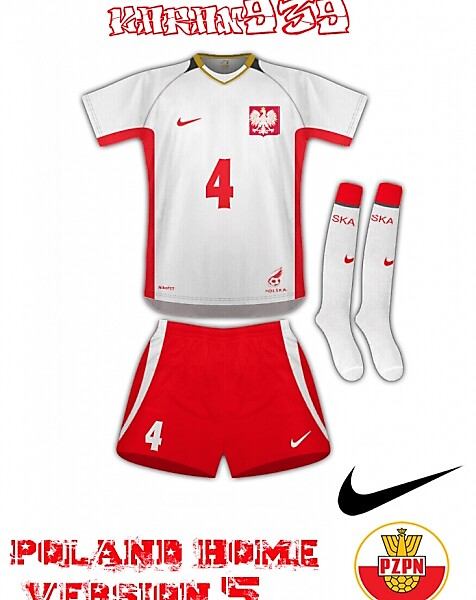 poland home nike version 5