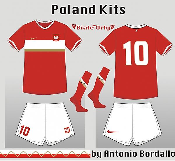 Poland Away kit 5
