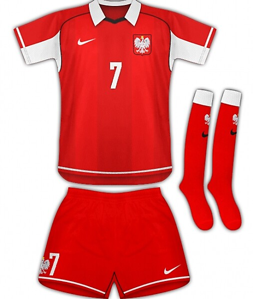 Poland/Nike Away Kit