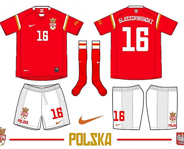 POLSKA AWAY 2009