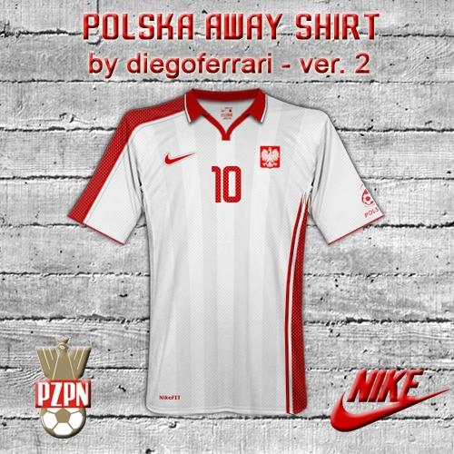 Polska away ver 2 by diegoferrari