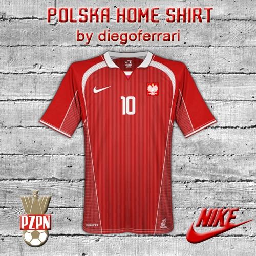Polska Home Shirt by diegoferrari