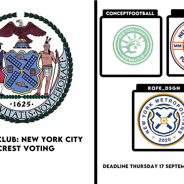 1 CITY 1 CLUB - - NEW YORK CITY - CREST VOTING