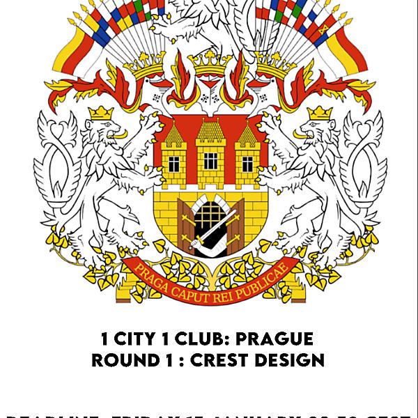 1 CITY 1 CLUB - PRAGUE - PART I - CREST