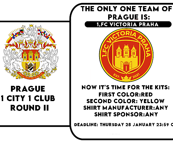 1 CITY 1 CLUB - PRAGUE - PART II - KITS