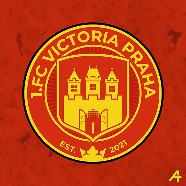 1.FC Victoria Praha Crest concept