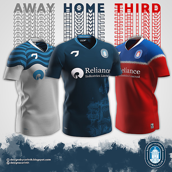 Bombay Victorians | Home, Away and Third Shirts