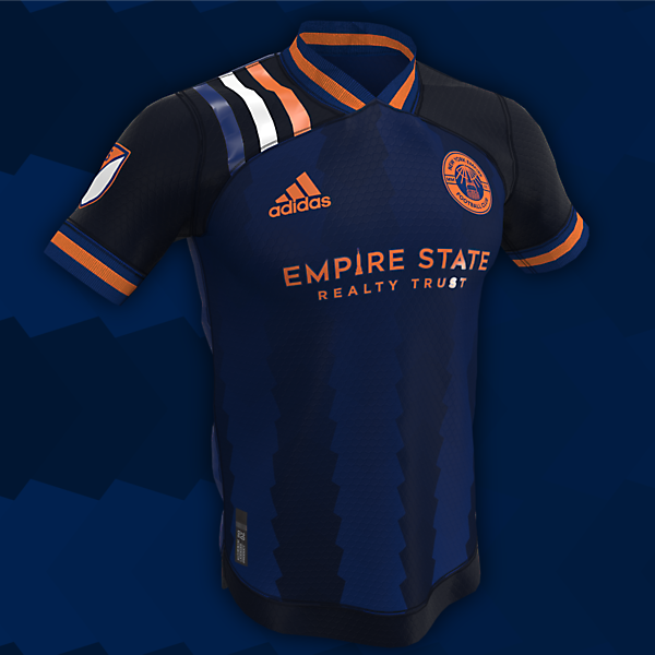New York Empire | Home, Away and Third Kits