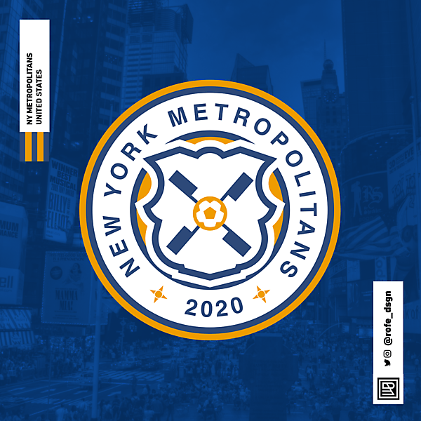 NEW YORK METROPOLITANS BRAND BY @rofe_dsgn