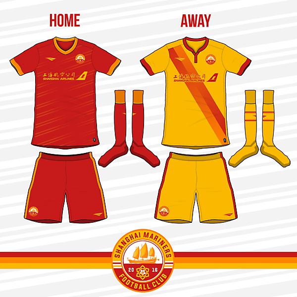 Shanghai Mariners FC Kits