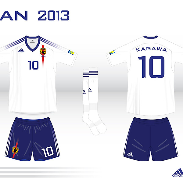 Japan Kit Confederations Cup