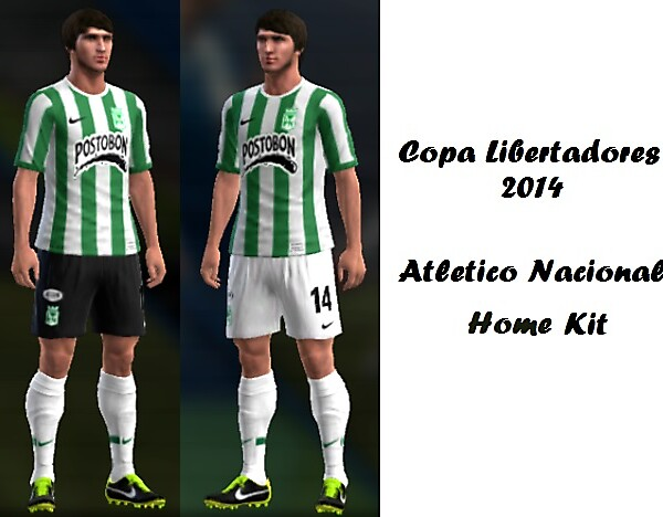 Atletico Nacional Home Kit