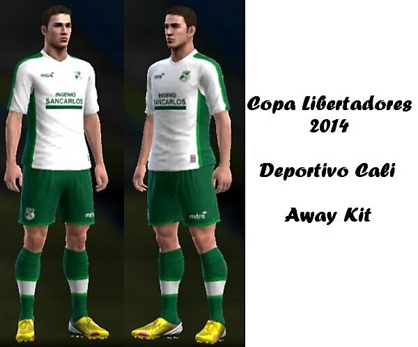 Deportivo Cali Away Kit