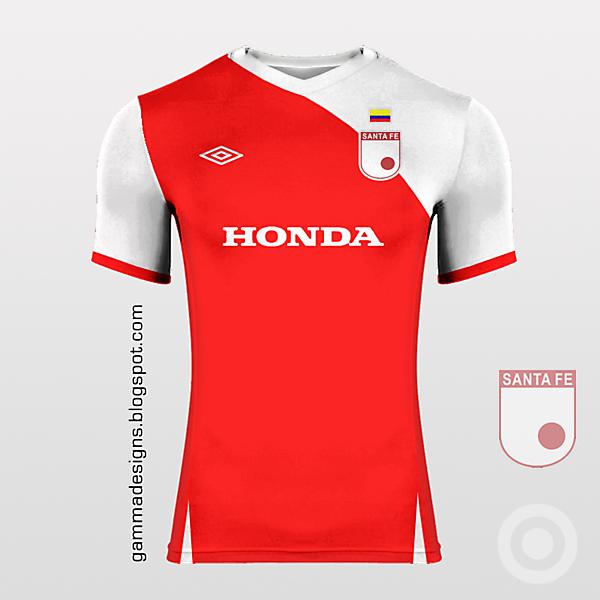 Independiente Santa Fe home kit