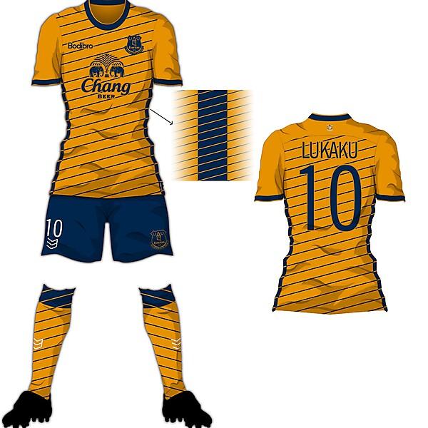 Bodibro Edge Template - Everton Away Shirt