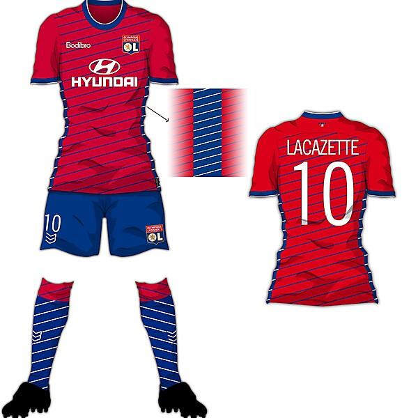 Bodibro Edge Template - Olympique Lyon Third Shirt