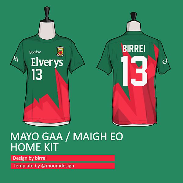 Mayo GAA home kit *PULSE TEAMWEAR*