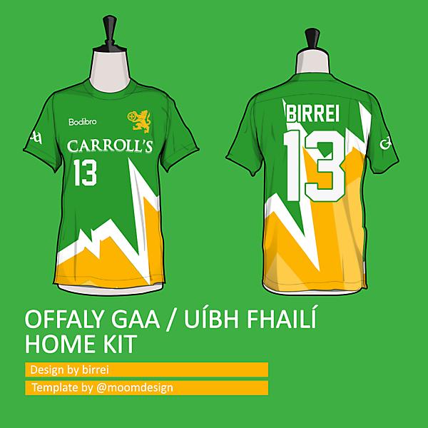 Offaly GAA home kit *PULSE TEAMWEAR*