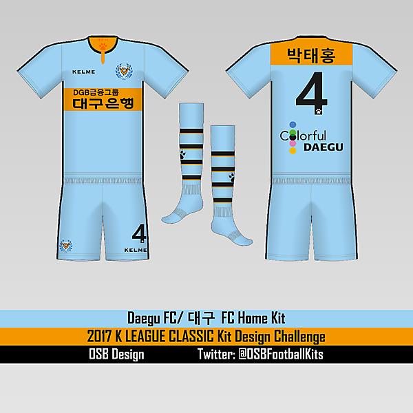 2017 Daegu FC Home Kit