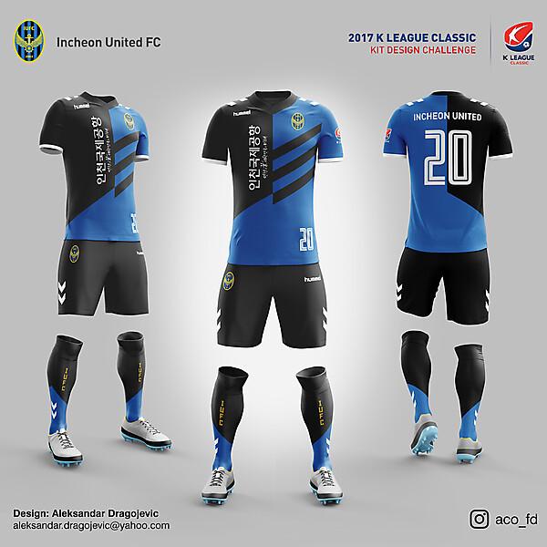 Incheon United FC // HOME KIT
