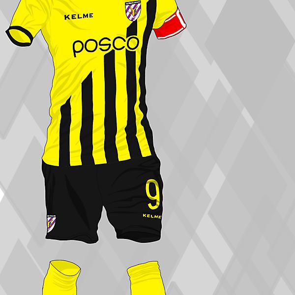 JEONNAM DRAGONS FC HOME KIT
