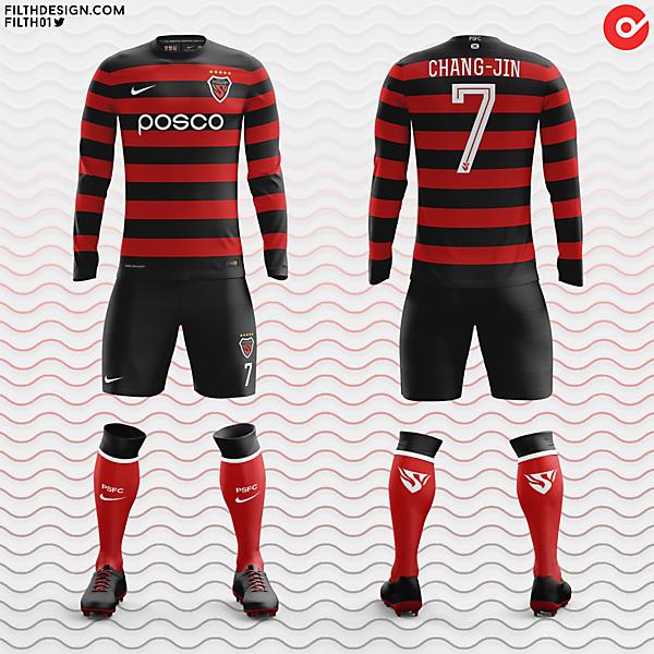 Pohang Steelers x Nike | Home Kit