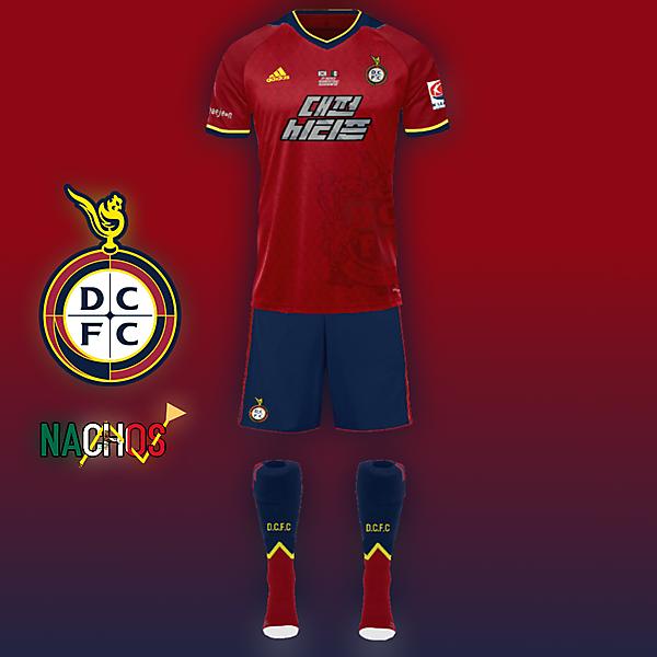Daejeon Citizen FC kit by Nachos 2018 K League Challenge