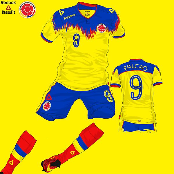 Colombia Home Kit - Reebok