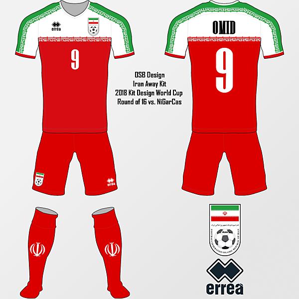Iran Away Kit - RO16