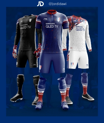 Suwon Bluewings - Complete Kit