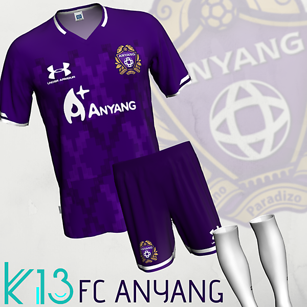 FC Anyang x Under Armour
