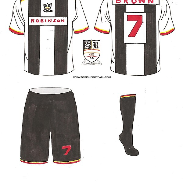 Stafford Rangers - home Kit