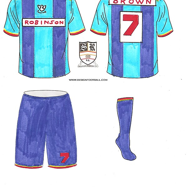 Stafford Rangers - away Kit