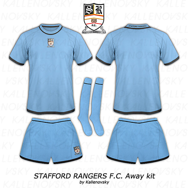 Stafford Rangers F.C. home and away