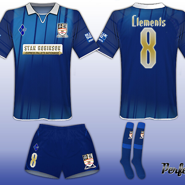 Stafford Rangers Special Blue #Kit 2