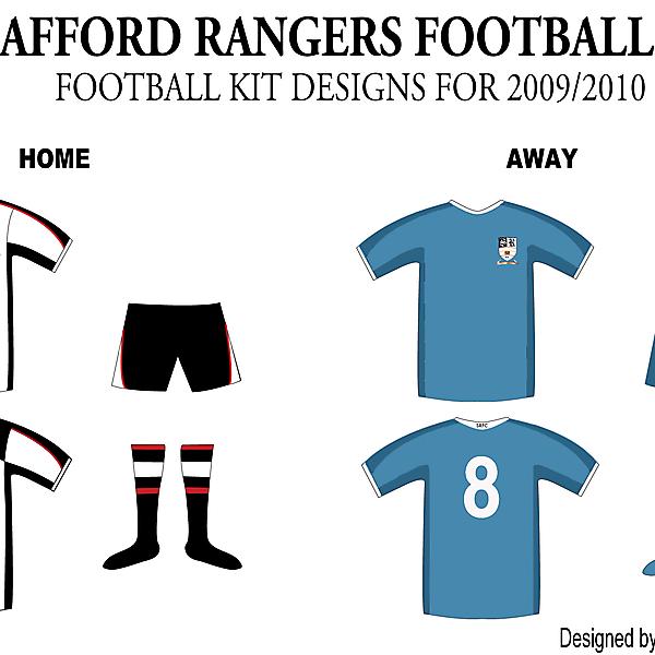 Stafford Rangers FC Kits 2009/2010