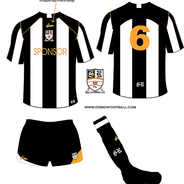 Stafford Rangers F.C  fantasy home kit