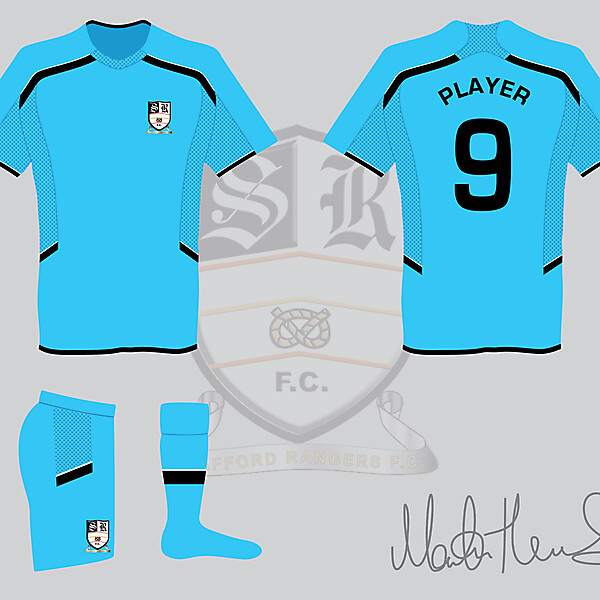 Stafford Rangers FC Away Kit - Martin Thomas Design