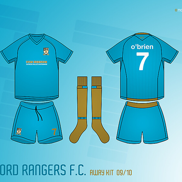 Stafford Rangers Away Kit