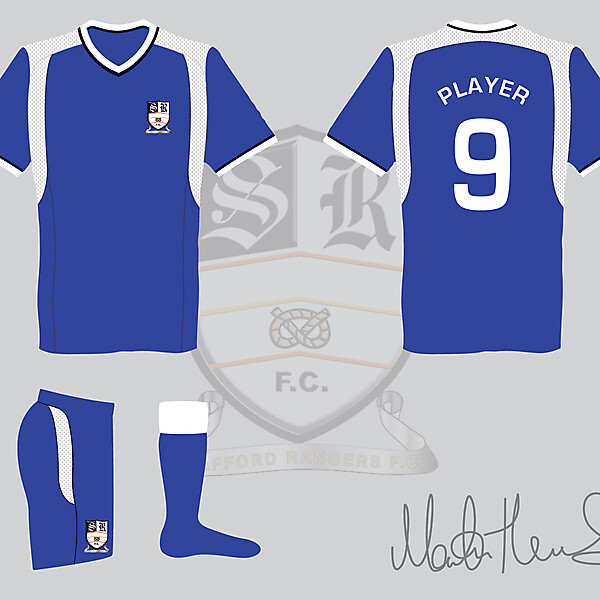 Stafford Rangers FC Away Kit #3 - Martin Thomas Design