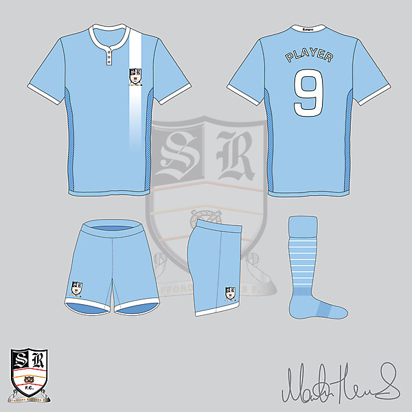Stafford Rangers FC Away Kit #5 - Martin Thomas Design