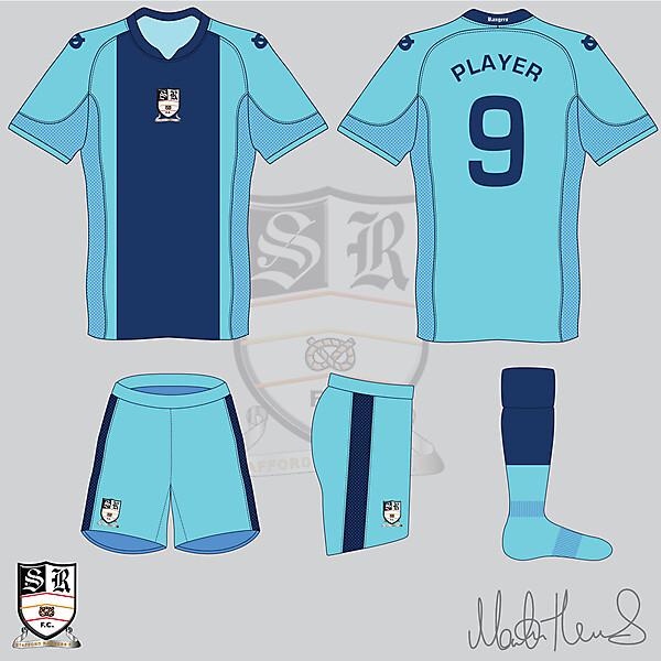 Staffor Rangers FC Away Kit #6 - Martin Thomas Design