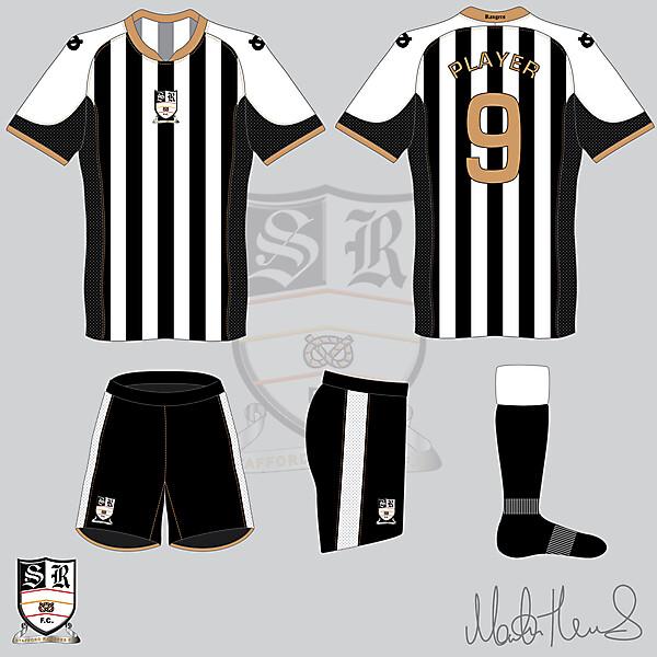 Stafford Rangers FC Home Kit #6 V2 - Martin Thomas Design