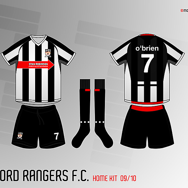 Stafford Rangers Home Kit