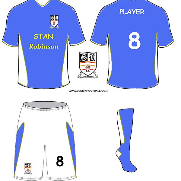 Stafford rangers kit